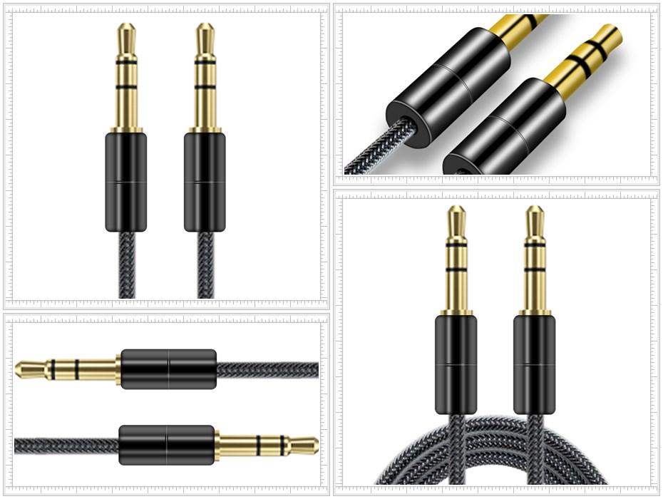 3.5mm对3.5mm音频线