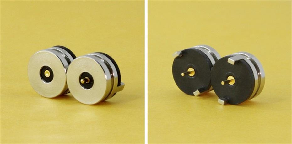 磁吸弹簧针连接器