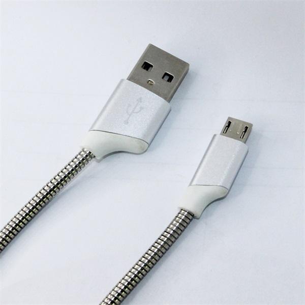 弹簧软管 micro数据线