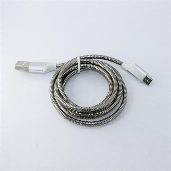 弹簧软管 micro usb数据线