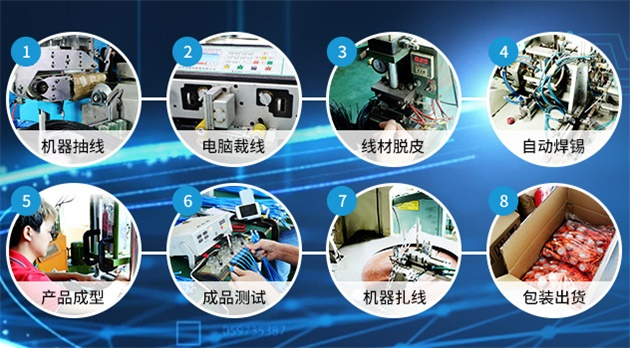 手机数据线生产工艺