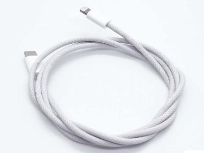 苹果新数据线——Lighting编织线!