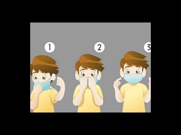 配戴口罩的正确方式-口罩鼻梁条厂家